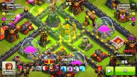 "CLASH OF CLANS – FLYING GOLEMS WTF! ""FUNNY MOMENTS+TOWN HALL 10,TH9,TH8 TROOP ATTACK STRATEGY! (NEW)"