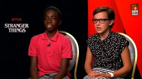 Netflix Stranger Things _ Interview with Millie Bobby Brown & Caleb McLaughlin-icPB163W13M