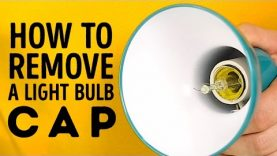 How to easily remove a light bulb cap l 5-MINUTE CRAFTS