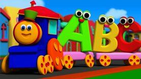Bob The Train | Alphabet Adventure | abc Song | abcd song | kids tv show | Cartoon abc songs | abcd