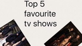Top five favourite TV shows