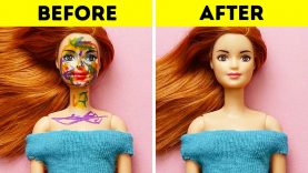 18 BARBIE DOLL HACKS