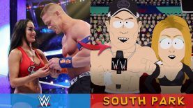 WWE STARS IN FAMOUS ANIMATED TV SHOWS!!!