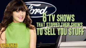 6 TV Shows That Stopped Their Shows To Sell You Stuff