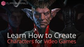 Creating Characters for Games Trailer