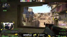 CS:GO – S1MPLE WTF SHOT
