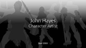 John Hayes Modelling Reel 2008
