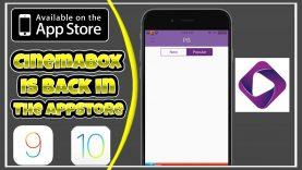 NEW Cinema Box Watch Movies & TV Shows FREE iOS 9 / 10 – 10.3.1 NO Jailbreak NO PC iPhone iPad iPod