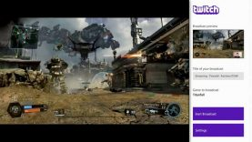 Twitch Broadcasting On Xbox One