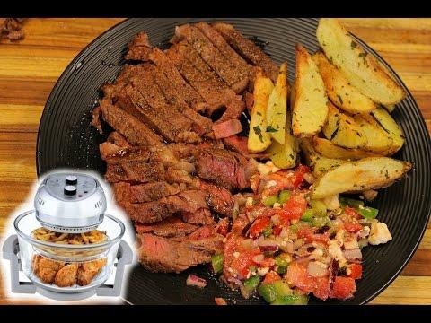 Air Fryer Steak and Potatoes - air fryer recipes