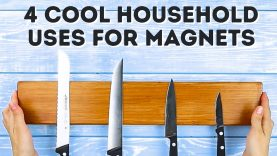 4 AWESOME uses for magnets l 5-MINUTE CRAFTS