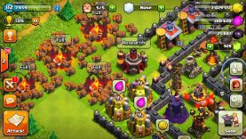 """CLASH OF CLANS -ALL WALL BREAKERS! 3 STARRING A VILLAGE! WTF! """"FUNNY MOMENTS+MAX TROOPS VS MIN BASE"""""""