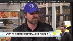 "David Harbour Previews ""Stranger Things"" Season Two"
