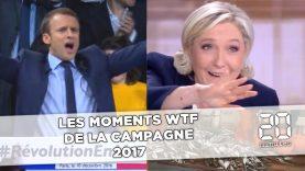 Les moments WTF de la campagne présidentielle 2017