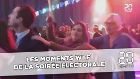 Les moments WTF  de la soirée électorale