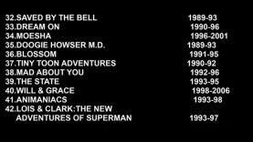 Top 100 TV Shows of the 90s