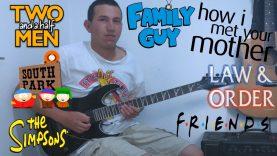 TV Shows Themes Guitar Medley