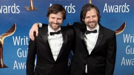 Stranger Things: Duffer Brothers 2017 Writers Guild Awards West Coast Red Carpet