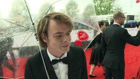 TV BAFTAs: Stranger Things star Charlie Heaton talks S2!