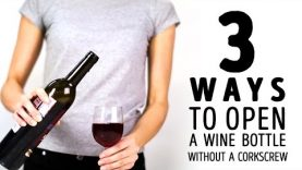 3 unusual ways to open a wine bottle without a corkscrew l 5-MINUTE CRAFTS