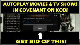 Auto-play Covenant Kodi Movies & TV Shows