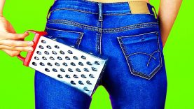 15 AWESOMELY EASY DIY JEANS HACKS