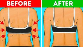 35 EXERCISES TO GET RID OF BACK AND ARMPIT  FAT IN 20 MINUTES