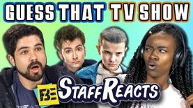 GUESS THAT SONG CHALLENGE: TV SHOWS #3 (ft. FBE STAFF)