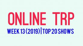 Online TRP   Week 13   Top 20 TV Shows
